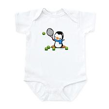 Tennis Penguin (1) Infant Bodysuit