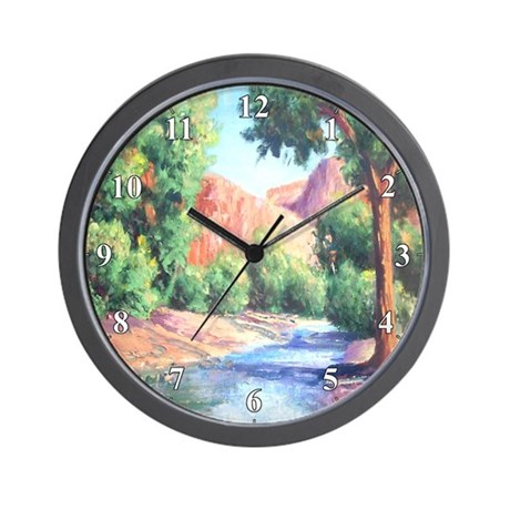 Summer Canyon Wall Clock