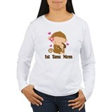 1st Time Mom Monkey Gift T-Shirt