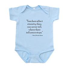 Teacher Eternity Infant Bodysuit
