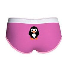 Cute Penguin Women's Boy Brief