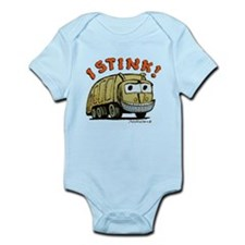 Funny Garbage Infant Bodysuit