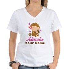 Personalized Abuela Monkeys Shirt
