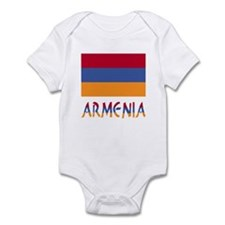 Armenia Flag & Word Infant Bodysuit