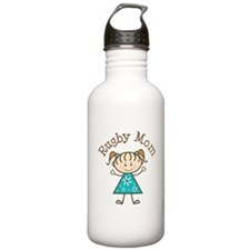 Rugby Mom Gift Water Bottle