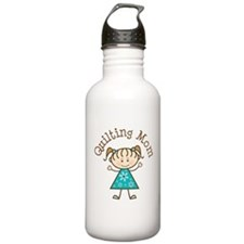 Quilting Mom Gift Water Bottle