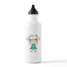 Karate Mom Gift Water Bottle