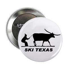 "Ski Texas 2.25"" Button (10 pack)"