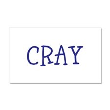 Cray Car Magnet 20 x 12