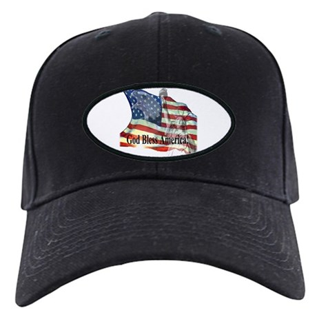 God Bless America! Black Cap