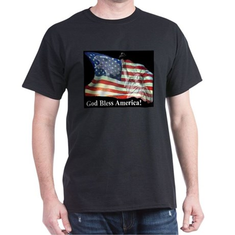God Bless America! Black T-Shirt