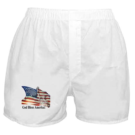 God Bless America! Boxer Shorts