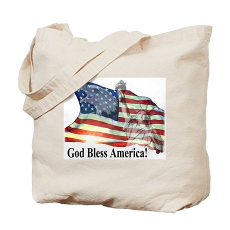 God Bless America! Tote Bag