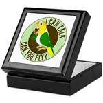 ICT,CYF White Bellied Caique Keepsake Box