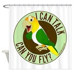 ICT,CYF White Bellied Caique Shower Curtain