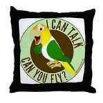 ICT,CYF White Bellied Caique Throw Pillow