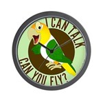 ICT,CYF White Bellied Caique Wall Clock