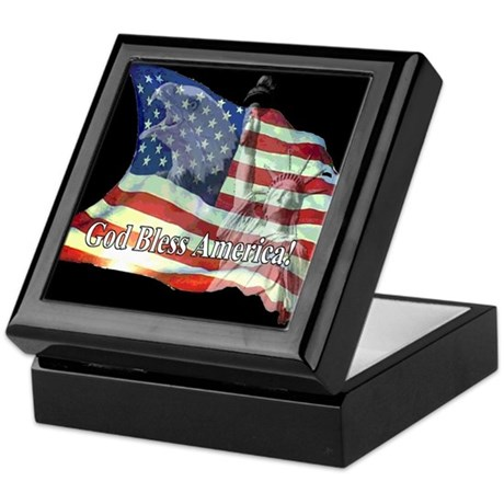 God Bless America! Keepsake Box