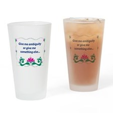 Ambiguity Drinking Glass