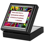 Genius and Madness Keepsake Box