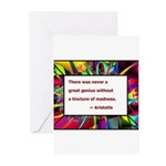 Genius and Madness Greeting Cards (Pk of 10)