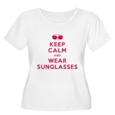 Keep Calm and Wear Sunglasses T-Shirt
