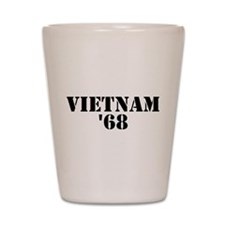 Vietnam 1968 Shot Glass