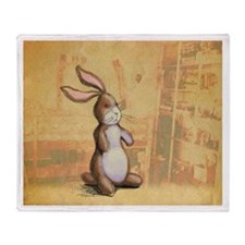 Velvet-Rabbit 3 Throw Blanket