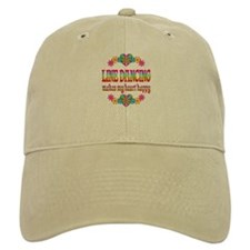 Line Dancing Happy Baseball Cap