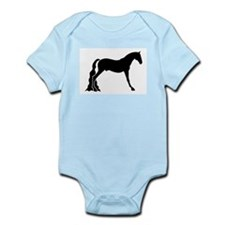 saddle horse Infant Creeper