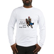 Funny Joust Long Sleeve T-Shirt