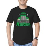 Trucker Kaiden Men's Fitted T-Shirt (dark)