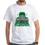 Trucker Kaiden White T-Shirt