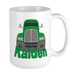 Trucker Kaiden Large Mug