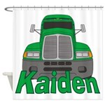 Trucker Kaiden Shower Curtain