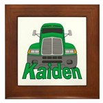 Trucker Kaiden Framed Tile