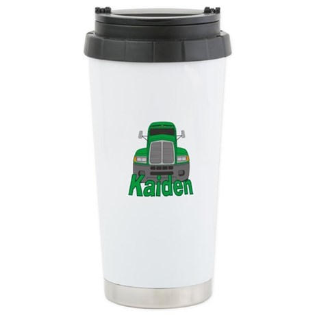 Trucker Kaiden Ceramic Travel Mug