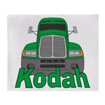 Trucker Kodah Throw Blanket