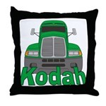 Trucker Kodah Throw Pillow