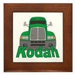 Trucker Kodah Framed Tile
