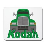 Trucker Kodah Mousepad
