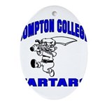 Compton College Ornament (Oval)