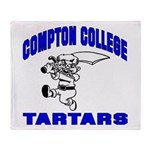 Compton College Throw Blanket