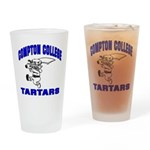 Compton College Drinking Glass