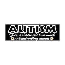 Few understand autism Car Magnet 10 x 3