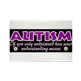 Autism Rectangular Magnet (100 pack)