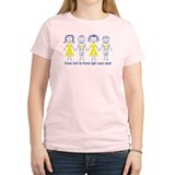 Cute Sarcoma cancer ribbon T-Shirt