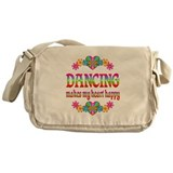 Dancing Happy Messenger Bag