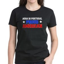 Born Portugal Proud American Tee