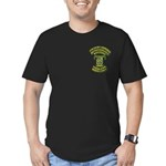 USMC - 4th LAR Men's Fitted T-Shirt (dark)